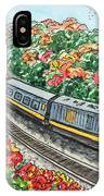 Hop On A Train IPhone Case