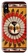 Hopi Owl Mask IPhone Case