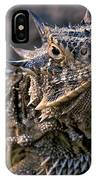 Horn Toad IPhone Case