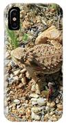 Horned Lizard IPhone Case
