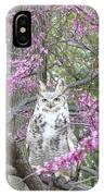 Horned Owl IPhone Case