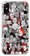 Horror Icons IPhone X Case