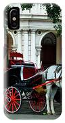 Horse And Buggy In Havana IPhone Case