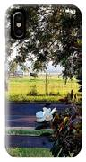 Horse And Flower IPhone Case
