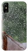 Horse Bath I IPhone Case