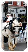 Horse Carriage In Nashville IPhone Case