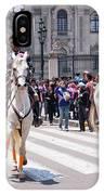 Horse Guard At Parade IPhone Case