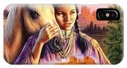 Horse Maiden IPhone Case