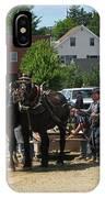 Horse Pull H IPhone Case
