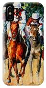 Horse Race IPhone Case
