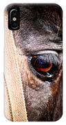 Horse Tears IPhone Case