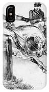 Horseback Riders, C1840 IPhone Case