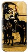 Horseguards Inspection. IPhone Case