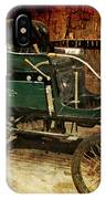 Horseless Carriage IPhone Case