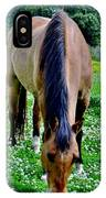 Horses In The Meadow IPhone Case
