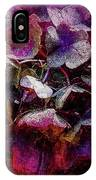 Colorful Hortensia Closeup IPhone Case