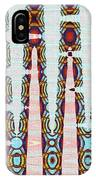 Hosiptal Construction Abstract #2 IPhone Case