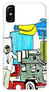 Hot Dog Guy Of Asbury Park IPhone Case