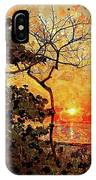 Hot Night In The Tropics IPhone Case