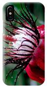 Hot Red Passion IPhone Case
