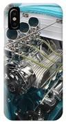 Hot Rod Engine Detail IPhone Case