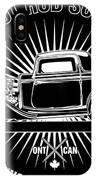 Hot Rod Shop Shirt IPhone X Case