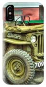 Hotchkiss Jeep IPhone Case