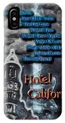 Hotel California IPhone Case
