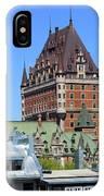 Hotel Fairmont Le Chateau Frontenac 6496 IPhone Case