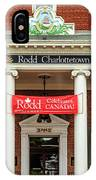 Hotel In Charlottetown IPhone Case
