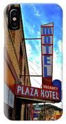Hotel Motel IPhone Case