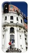 Hotel Negresco In Nice IPhone Case