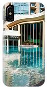 Hotel Swimming Pool IPhone Case