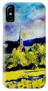 Hour Village Belgium IPhone Case