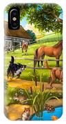 House Animals IPhone X Case