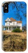 House Framed By Tree IPhone Case