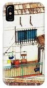 House In Santiago De La Ribera IPhone Case
