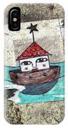 House In The Sea IPhone Case