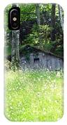 House In The Wood IPhone Case