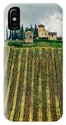 House On A Hill-tuscany IPhone Case