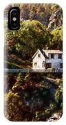 House On The Side Of The Mountain IPhone Case