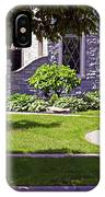 House On Wisconsin Avenue IPhone Case