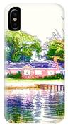 Houses By The Lake 1 IPhone Case