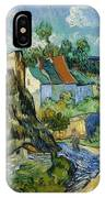 Houses In Auvers IPhone X Case