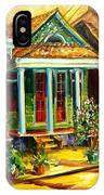 Houses In The Marigny IPhone Case