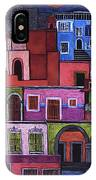 Houses Of San Miguel 2 IPhone Case