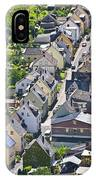Houses On-line IPhone Case