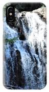 Houston Brook Falls Panorama IPhone Case