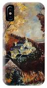 Houyet Village Belgium IPhone Case