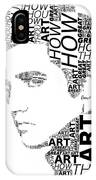 How Great Thou Art Elvis Wordart IPhone Case